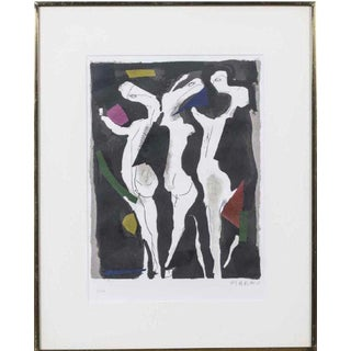 1960s Vintage Marino Marini The Rite of Spring Lithograph Print For Sale