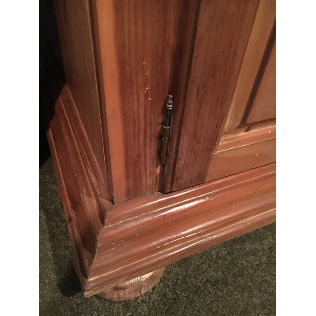 Vintage Traditional Wooden Armoire - Image 4 of 6