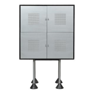 Ettore Sottsass Style Modern Cabinet For Sale