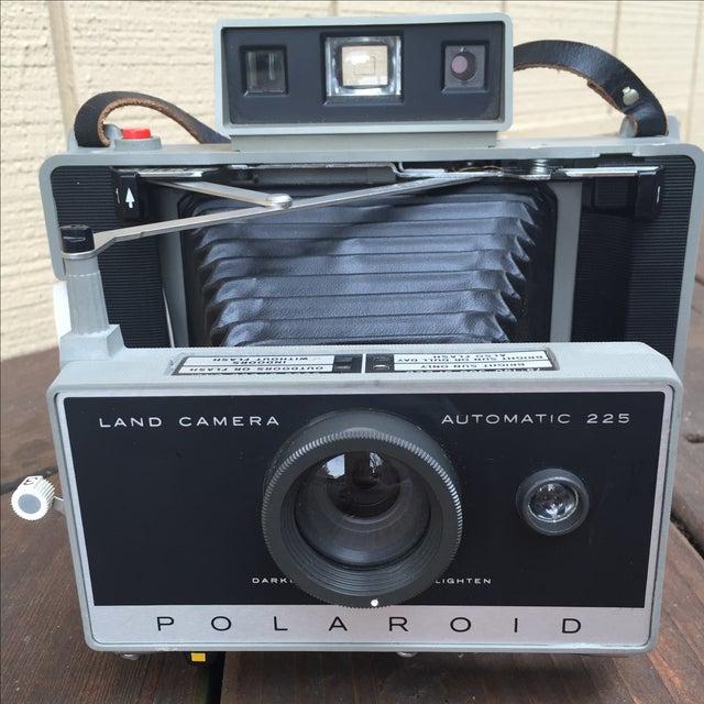 Mid-Century Modern Vintage 70s Polaroid 225 Land Camera For Sale - Image 3 of 5