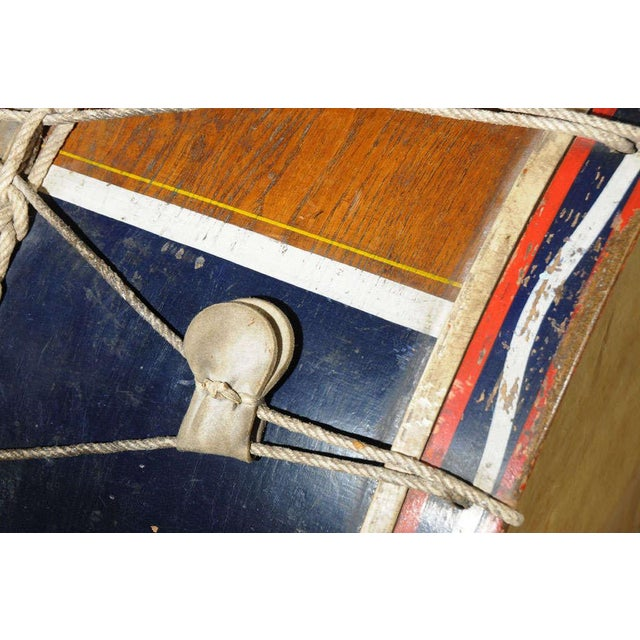 Antique French Military Tambour or Drum For Sale In Houston - Image 6 of 7