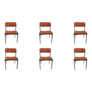 Mid-Century Modern Erik BuchRosewood Dining Chairs by Oddense Maskinsnedkeri - Set of 6 For Sale