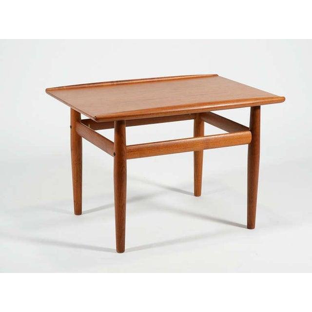 1960s Teak Side/ End Table by Greta Jalk For Sale - Image 5 of 8