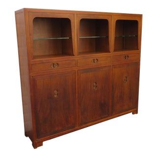 Display Cabinet Bookshelf Cupboard Design by Michael Taylor for Baker For Sale
