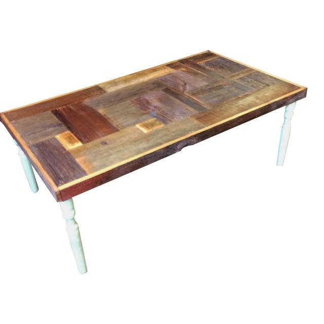 Rustic Handmade Coffee Table - Image 1 of 5