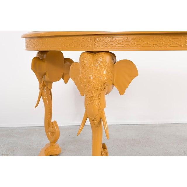 1970s Gampel-Stoll Elephant Desk For Sale - Image 5 of 8