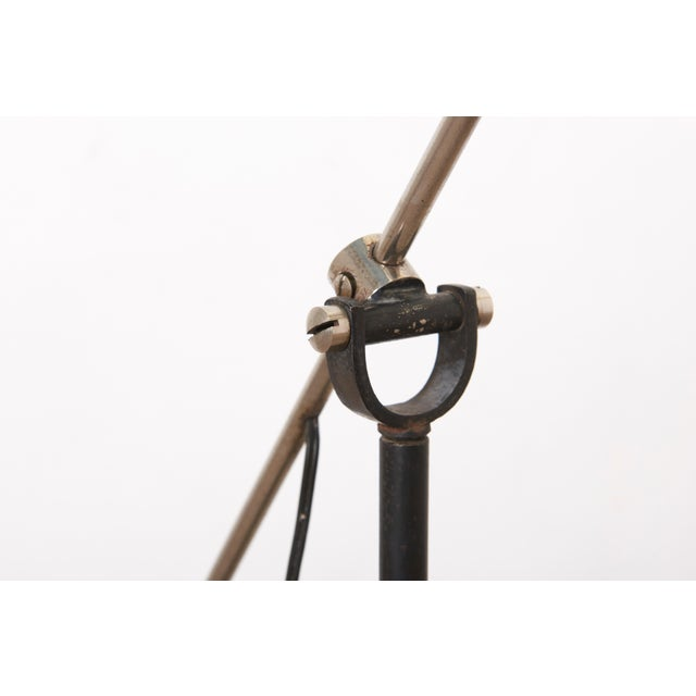 Black Black Hoogervorst Rare Counter Balance Floor Lamp for Anvia 1950s Netherlands For Sale - Image 8 of 11