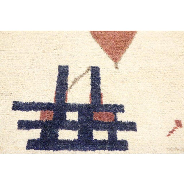 """Early 21st Century Contemporary Moroccan Style Rug - 10′3"""" × 13′6″ For Sale - Image 5 of 9"""