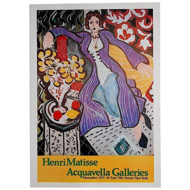 Modern Vintage Poster Lithograph - Henri Matisse For Sale - Image 3 of 3