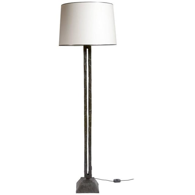 Bruno Romeda Bruno Romeda Bronze Floor Lamp For Sale - Image 4 of 4