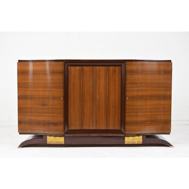 Traditional French Art Deco Buffet For Sale - Image 9 of 9