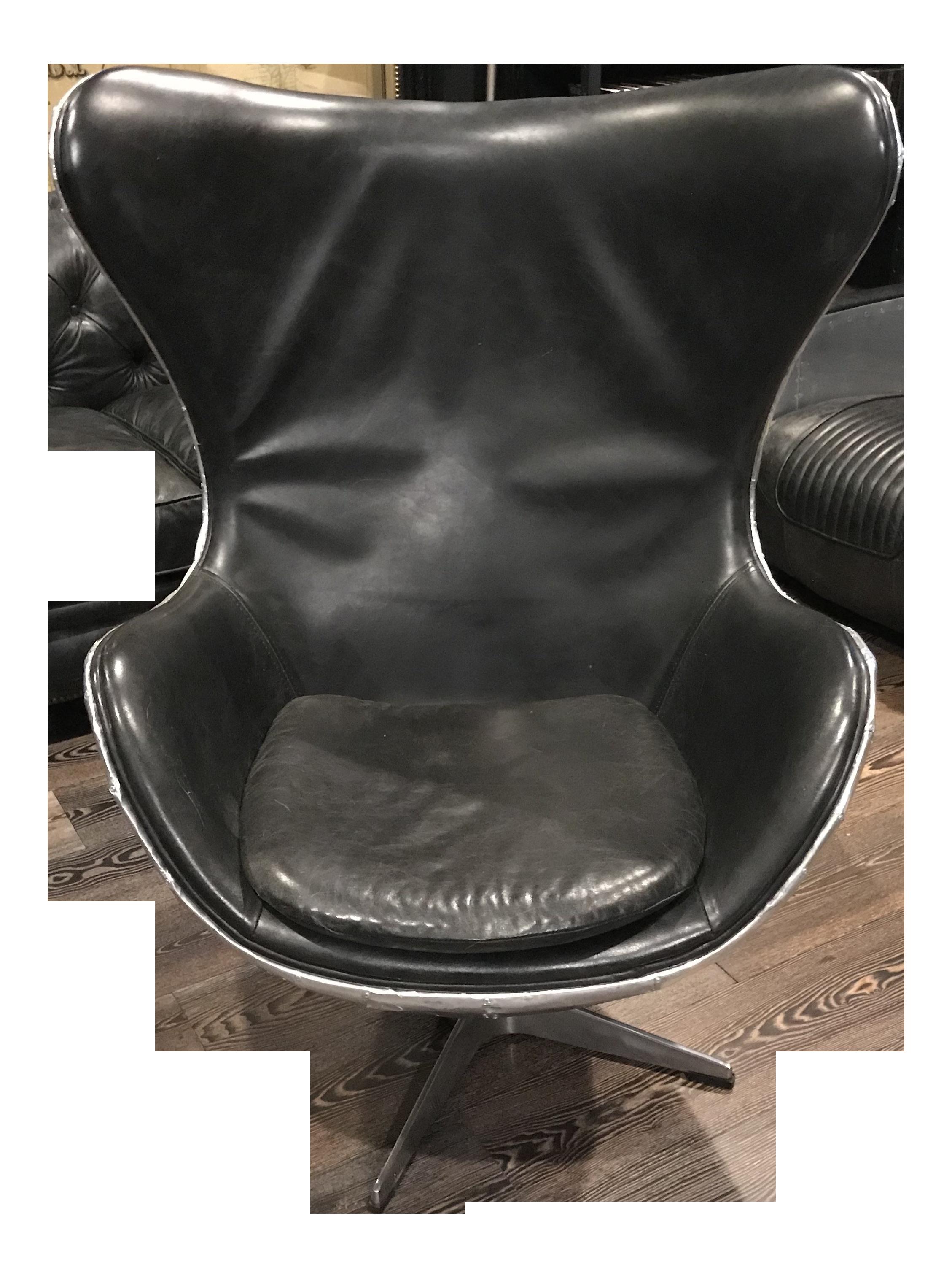 Restoration Hardware Copenhagen Aviator Egg Chair