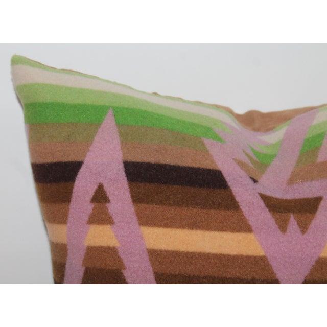 Americana Pendleton Plaid Pillow For Sale - Image 3 of 6