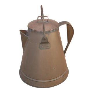 Gigantic Copper Coffee Pot