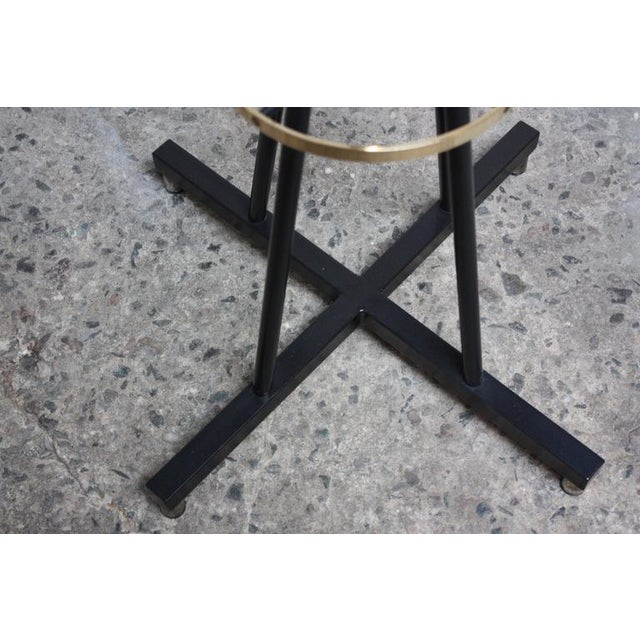 Mid-Century Italian Modern Brass Swivelling Coat Rack - Image 3 of 11