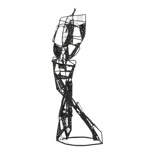Abstract Figure Sculpture For Sale