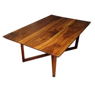 Russell Walnut Coffee Table For Sale