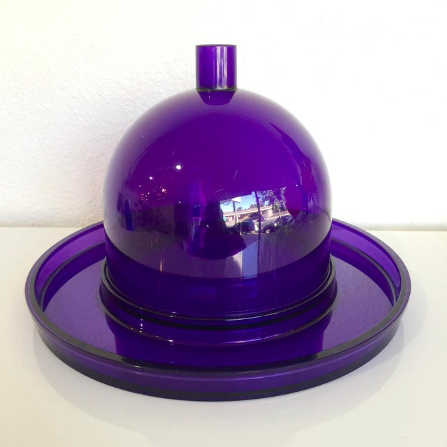 This stunning modern Cloche and Tray by Dansk was designed by Gunner Cyren during the early 1980s. It has been fashioned...