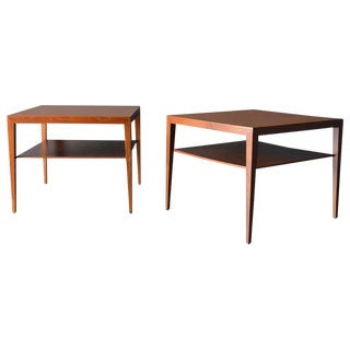 1960s Danish Modern Severin Hansen Side Tables - a Pair For Sale