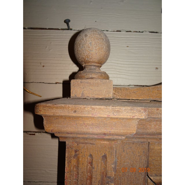 19th Century French Oak Mirror For Sale - Image 9 of 11