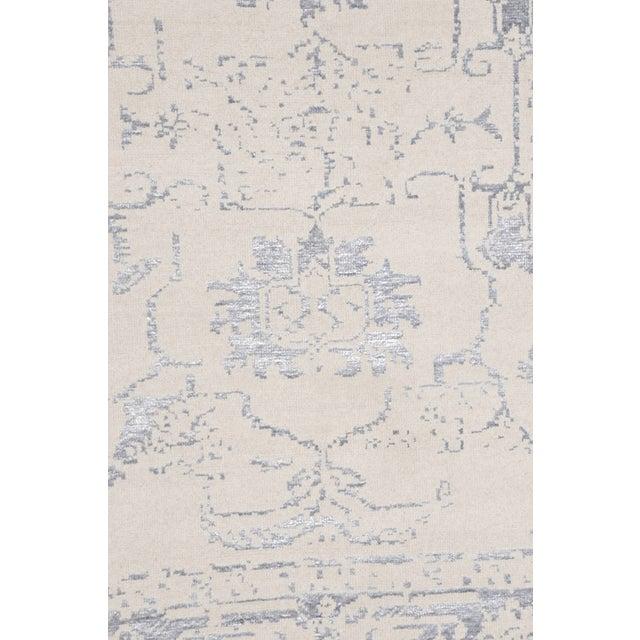 Pasargad Silk Fusion Silk & Wool Rug - 4′ × 6′ - Image 2 of 5