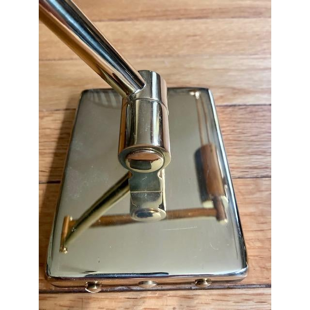 Mid-Century Modern Brass Hinson Swing Arm Lamps - a Pair For Sale - Image 9 of 11