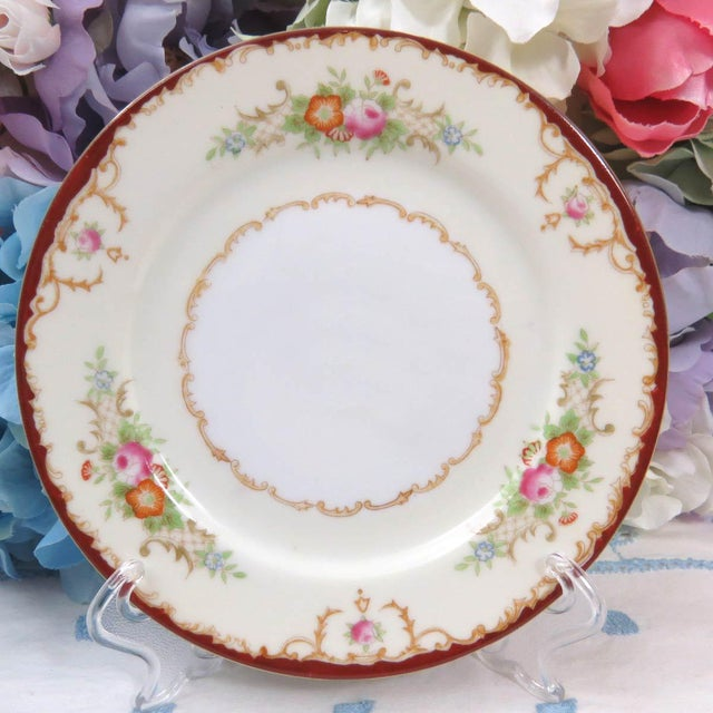 Mismatched Vintage Dessert Plates - Set of 8 - Image 8 of 11