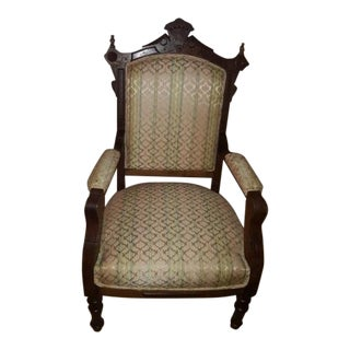 Antique Carved Parlor Chair
