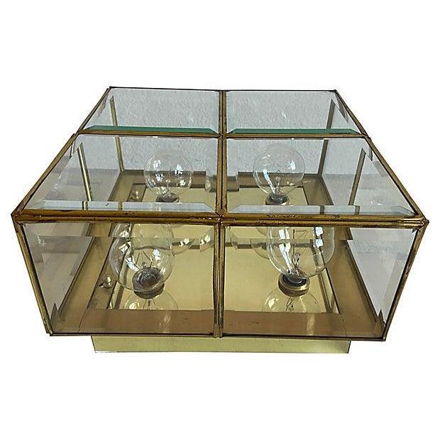 1960s Lightolier Jewel Box Flush Light For Sale - Image 5 of 12