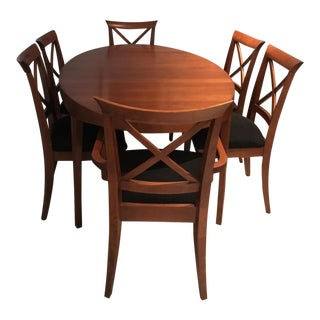 Solid Canadian Oval Wood Table