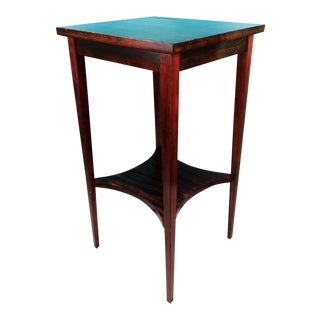 Vintage Wood Side Table from Art Dept Marywood University