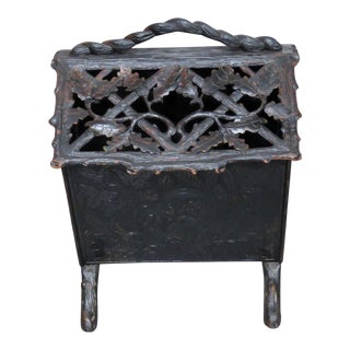 Black Forest Magazine Rack For Sale