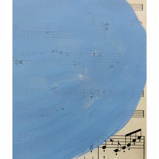 "Original Modern Painting by Tony Curry ""Modern Blue Symphony"". This very unique original painting is painted on..."
