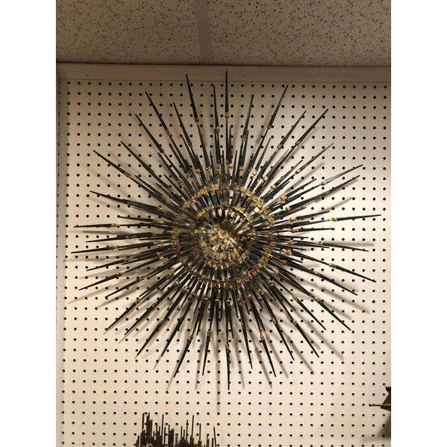 1960s 1960s Mid-Century Modern Starburst Sculpture For Sale - Image 5 of 11