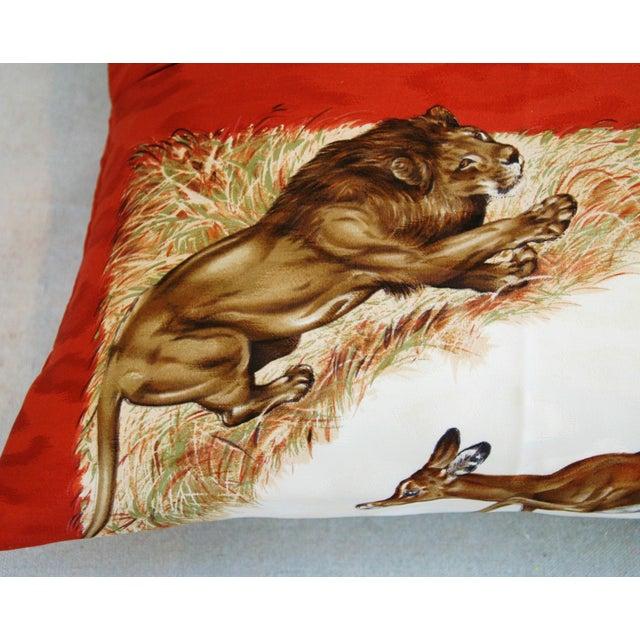 Custom Hermes Robert Dallet Safari Kenya Pillow - Image 11 of 11