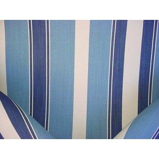 Ralph Lauren Lfy50060f Turkana Rug Stripe Horizon Upholstery Fabric - 2-1/2y For Sale