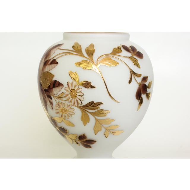 Edwardian Bavarian Bristol Gold Gilded Table Lamp For Sale - Image 3 of 7