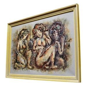 Three Nude Women by Calvin Waller Burnett For Sale