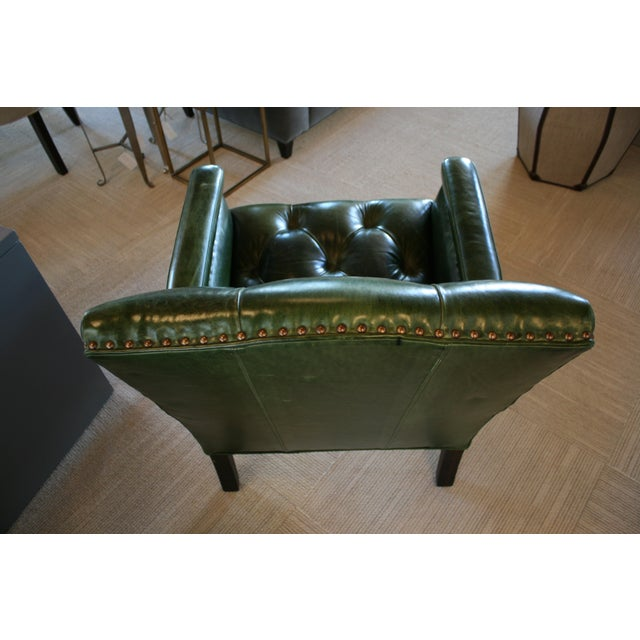 2010s Cisco Brothers Gallant Green Chair For Sale - Image 5 of 7