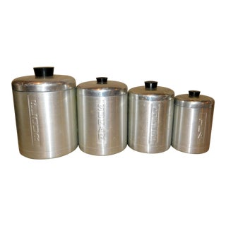 Metasco Inc. Canister Set - Set of 4 For Sale