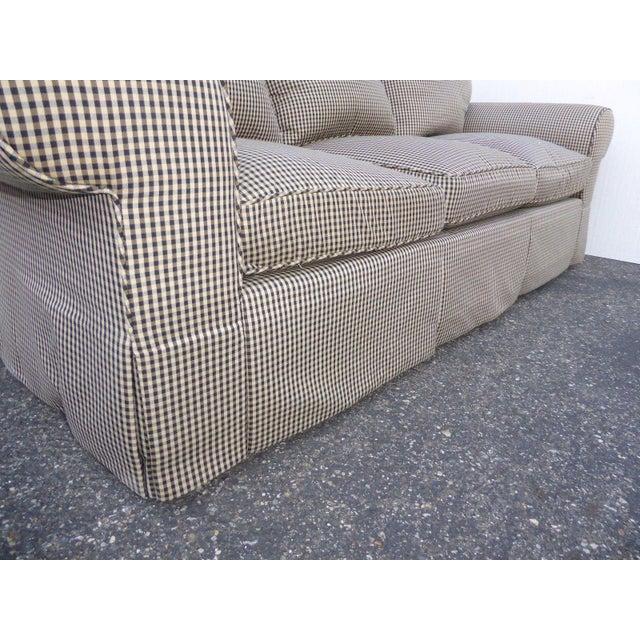 Glabman Furniture Plaid 3 Seater Sofa - Image 11 of 11