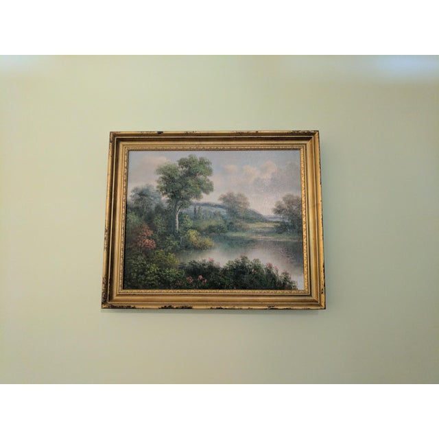 1955 Oil on Canvas Signed by Humphrey For Sale - Image 4 of 5