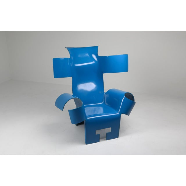 Modern Functional Art Chair in the Style of Gaetano Pesce - 1980s For Sale - Image 3 of 11