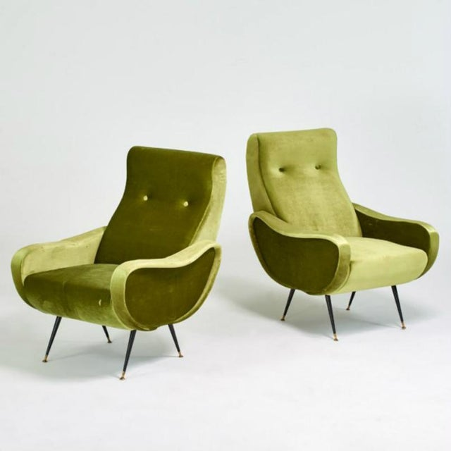 Marco Zanuso Style Mid-Century Lady Chairs - A Pair - Image 2 of 6