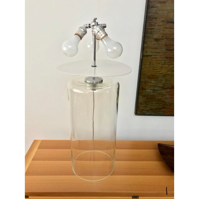 John Saladino Vintage Pyrex Lamps Designed by John Saladino - a Pair For Sale - Image 4 of 13