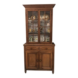 19th C. French Oak Cupboard