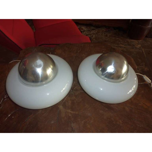 Artemide Italian Mid-Century Table Lamps - Pair For Sale - Image 5 of 6