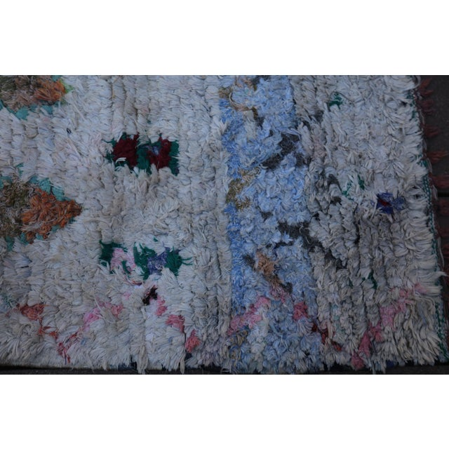 Cotton Moroccan Rug - 6′ × 8′2″ For Sale - Image 7 of 7