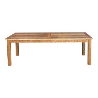 Reclaimed Teak Parson Table For Sale