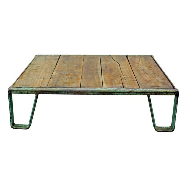 Vintage Industrial Pallet Coffee Table - Image 2 of 3